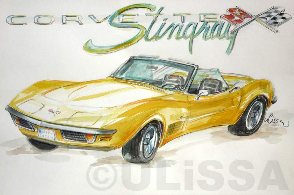 Corvette Stingray by ULISSA 2012