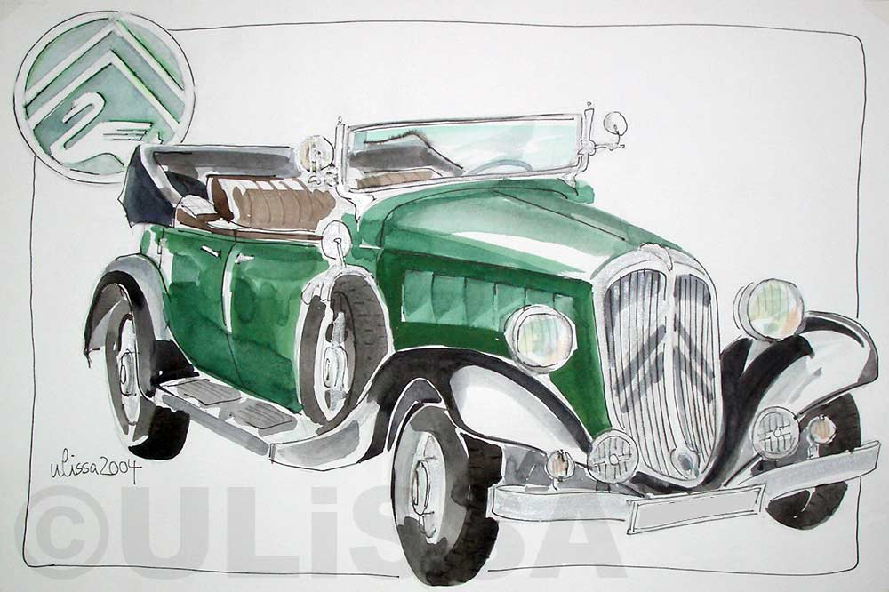 Citroen Cabrio by ULISSA 2004