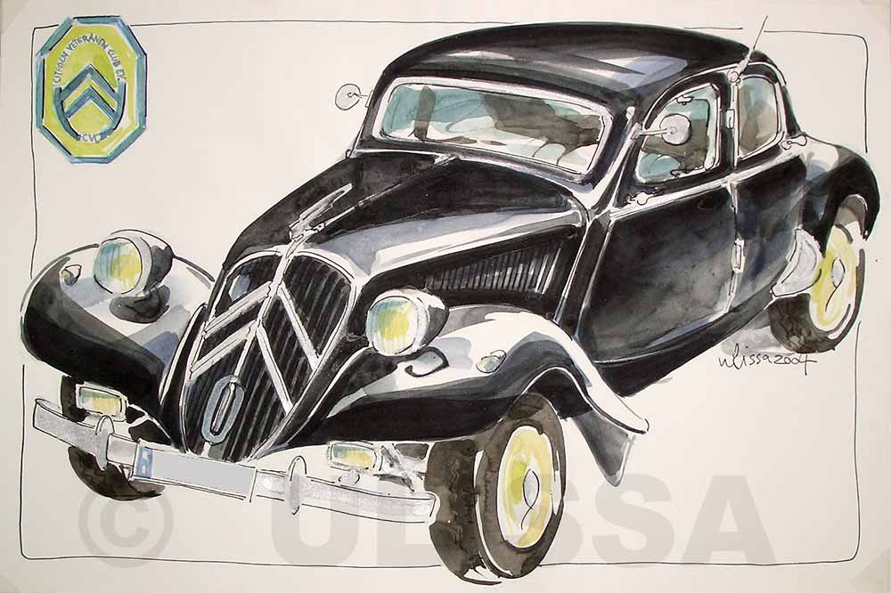 Citroen traction avant by ULISSA 2004